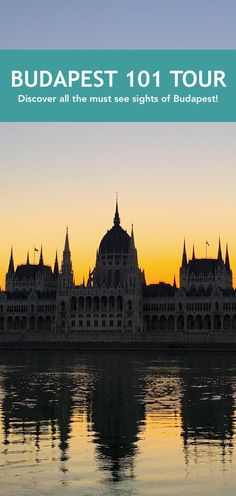 The Budapest 101 Tour visits all the main sights of Budapest, and gives you the big picture about the city. Perfect for your first day!