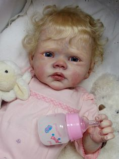 REBORN DOLL Baby Girl~RAINER~Romie Strydom~PEEK-A-BOO Nursery~Very Rare Sold Out