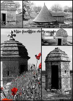La ville fortifié de Brouage, en Charente-Maritime (France).