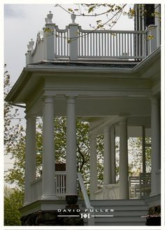I wonder if I was from the south in a previous life.......got to have a porch or veranda!