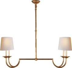"LARGE FLEMISH LINEAR PENDANT Height: 42 1/2"" Width: 44 1/4"" Canopy: 5 1/4"" Round Shade: 6 1/2"" x 13"" Top / 8"" x 14 1/2"" Bottom / 8"" Side - Oval Wattage: 4 - 60 Watt Type B Socket: Candelabra $630.00 * Minimum height: 29"""