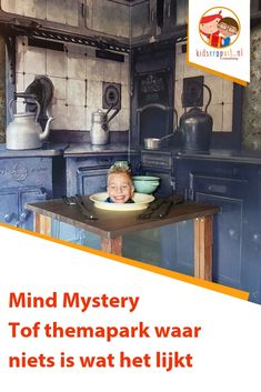 Mind Mystery, niets is wat het lijkt bij dit toffe themapark! - Apocalypse Now And Then Parenting Done Right, Kids And Parenting, Weekender, Mystery, Holland, Vacation Places, Vacation Ideas, Vacations, Travel Goals