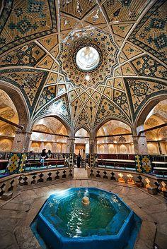 Iran, Sultan Amir Ahmad Historic Bath