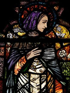 Stained glass by the master Harry Clarke (Irish, 1889-1931). Photo via Holy Whapping.