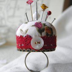Roses Pincushion Ring £12.00