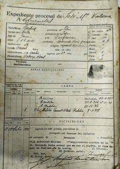 Expediente procesal de José María Valera Rendueles, gobernador civil de Sevilla durante el golpe de estado de julio de 1936.