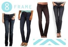 Fall Denim Guide for Your Body Type  H frame is often referred to as Rectangular There is little indentation at waist and very little difference in measurements at bust, waist and hips.