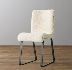 Astrid Sherpa Desk Chair - Graphite