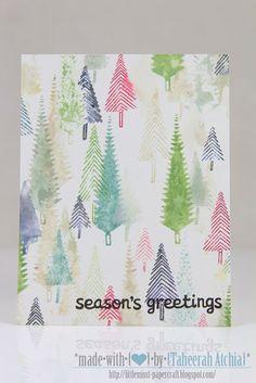 Misty Woods  - *Made With {♥} by Taheerah Atchia* :- http://littlemisst-papercraft.blogspot.com/