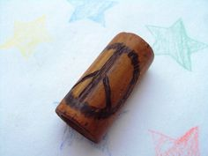 Bamboo Dread Bead Peace by TinySasquatch on Etsy, $7.00 :: #dreadstop *link shows as sold but shop does custom orders
