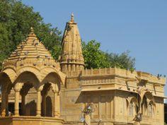 At golden city Jaisalmer