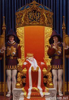 """Prince, The Boy King"",  David Nordahl, Michael Jackson's personal portraitist from 1988 - 2005, USA"