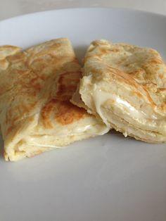 Pão de queijo light de frigideira
