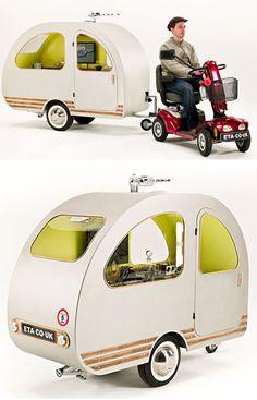 Scooter Caravan!