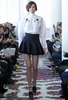 classic white shirt DELPOZO_FW13_ Josep Font_Look03