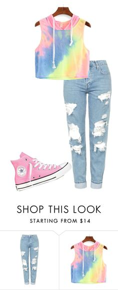 """Untitled #60"" by kbwalrus on Polyvore featuring Topshop and Converse"