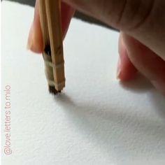 Watercolor Flowers Tutorial, Easy Watercolor, Watercolour Tutorials, Watercolor Cards, Painting Tutorials, Watercolor Art Lessons, Watercolor Painting Techniques, Watercolor Paintings, Watercolors