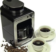 buy now   £44.99   Enjoy aromatic coffee the proper way with this Jack Stonehouse Grind and Brew Bean to Cup Coffee Machine, which will grid and make coffee from your favourite  ...Read More