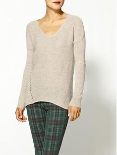 Velvet by Graham & Spencer Dallas Cashmere Blend Sweater | Piperlime