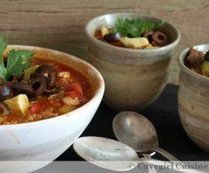 A chorizo and chicken chili/soup!