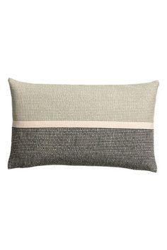 Putetrekk i canvas - Grønn/Mønstret - Home All Custom Pillows, Decorative Pillows, Pillow Inspiration, Green Home Decor, Home Room Design, Vintage Pillows, Textiles, Green Pattern, Mid Century Style