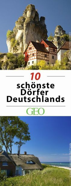 Kurzreise gesucht? Wir stellen Euch 10 schöne Dörfer in Deutschland vor!