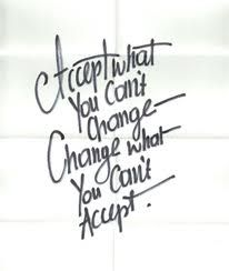 It takes a conscious decision to change your thinking!