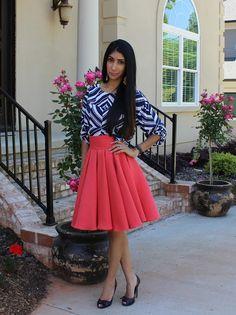 box pleat circle skirt – Fashion Behind The Seams
