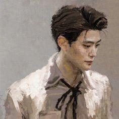 Nct 127, Cute Art Styles, Valentines For Boys, Jung Jaehyun, Jaehyun Nct, Kpop Fanart, Aesthetic Art, Nct Dream, My Idol
