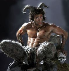 Centaur? Satyr? I'm just picturing one of the minions of the White Witch from Narnia.