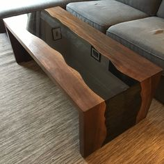 curtidas, 13 comentrios - Woodworking Art (woodwork_art) no Resin Furniture, Furniture Projects, Furniture Design, System Furniture, Furniture Plans, Wood Table Design, Coffee Table Design, Woodworking Furniture, Woodworking Projects