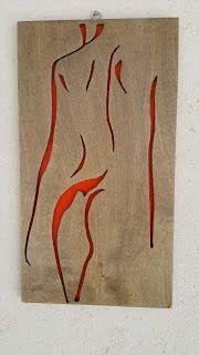 woodarsia: Erotic . W21cm H38cm