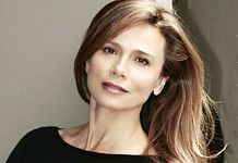 Lena Olin. Doesn't try to look like anyone but HER, and doesn't try to look 22 either. Stunning.