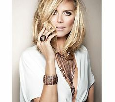 Gorgeous jewelry by a gorgeous supermodel! What's not to love? @Heidi Klum #GiftIdeas