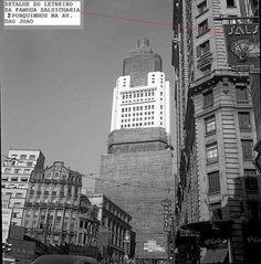 1946 - Edifício Altino Arantes, antiga sede do Banespa - Banco do Estado de São Paulo.