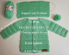 Hello my order hood # cardigan share # hopefully # leading # explanatory… – kinder mode Baby Knitting Patterns, Knitting For Kids, Easy Knitting, Vintage Sewing Patterns, Knitting Videos, Hooded Cardigan, Hooded Jacket, Baby Pullover, Baby Vest