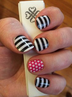 Love this Jamberry combination! Get the look without a lot of work.  http://www.samanthabell.jamberrynails.net