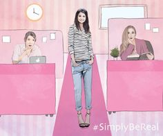 Sherin's #SimplyBeReal moment