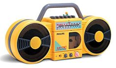 Philips Roller radio/cassette ghetto blaster 80s - yep, I remember these back in the day. In the Argos catalogue or Family Album catalogue around 1987.