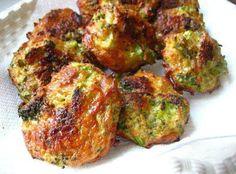 Baked Broccoli Cheese Bites