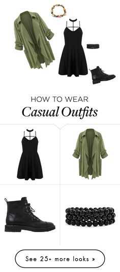 """""""Casual Punk"""" by angelicahhh on Polyvore featuring WithChic, Giuseppe Zanotti and Bling Jewelry"""
