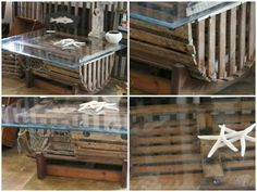 lobster trap coffee table - i want to build one and have the trap