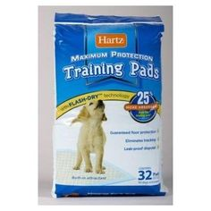 Hartz 04158 X Dog Training Pads 30 Count * You can find more details by visiting the image link. (This is an affiliate link and I receive a commission for the sales) Dog Training Books, Dog Training Pads, House Breaking Dogs, Free Puppies, Dog Pads, Wood Dog, Wet Dog Food, Pet Gate, Home Protection