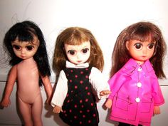 Susie Sad Eyes Sad Eyed Susie Doll Lot  Three Dolls  by KarmaRox, $199.00