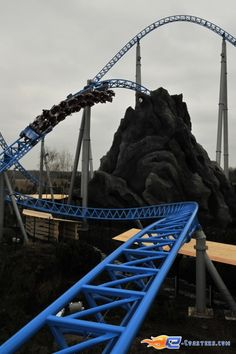 Roller Coaster Blue Fire, Europa Park (Rust Germany)