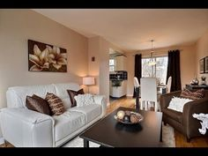HOME STAGING-BEFORE AND AFTER. Home Staging Montreal - YouTube