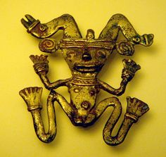 A Beautiful Gold Pendant