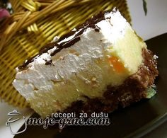 Sweet Recipes, Cake Recipes, Dessert Recipes, Torta Recipe, Kolaci I Torte, Torte Cake, Croatian Recipes, Coffee Cake, Cake Cookies