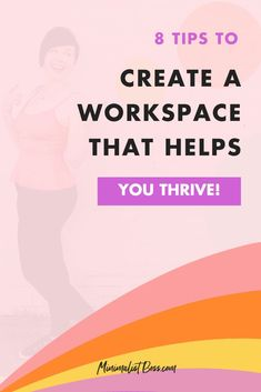 Feeling a bit uninspired lately? Well, believe it or not, your workspace plays a HUGE part in your motivation and inspiration. SO, today ... we're chatting ALL about creating a space that will help to energize you, cultivate your creativity, and motivate you to take inspired action so that you can put out your BEST work! #goalsetting #productivitytips #todolist #savetime #businessplanning