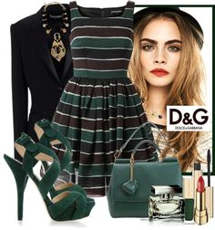 """""""D Green"""" by cjfdesign ❤ liked on Polyvore"""